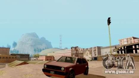 Brand new transport und Einkauf für GTA San Andreas