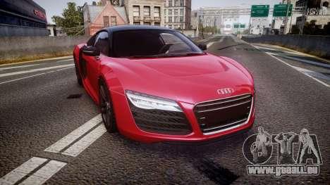 Audi R8 E-Tron 2014 dual tone pour GTA 4