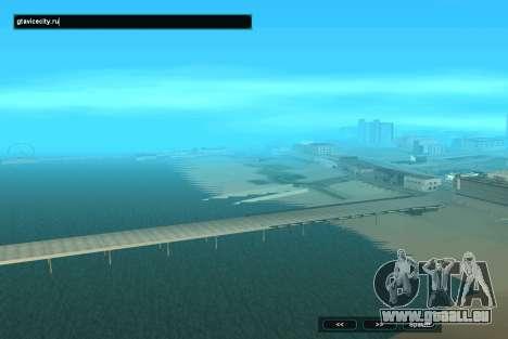 SampGUI Aqua pour GTA San Andreas deuxième écran
