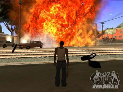 New Realistic Effects 4.0 Full Final Version für GTA San Andreas dritten Screenshot