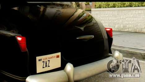 Lassiter Series 75 Hollywood pour GTA San Andreas vue arrière