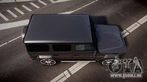 Mercedes-Benz G65 Brabus rims2 für GTA 4 rechte Ansicht