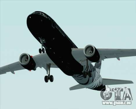 Airbus A320-200 Air New Zealand pour GTA San Andreas moteur