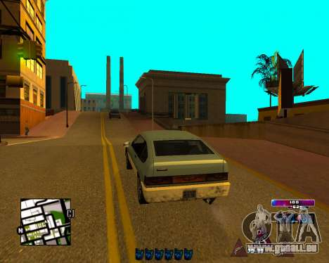 Space C-HUD v2.0 pour GTA San Andreas