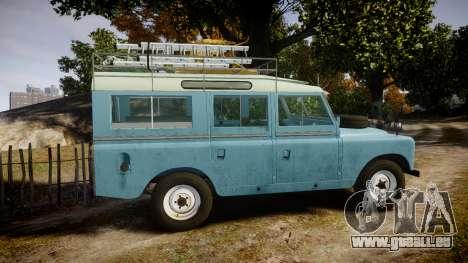 Land Rover Series II 1960 v2.0 pour GTA 4 est une gauche