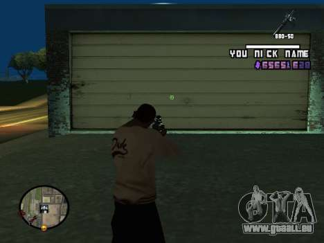 C-HUD by SantiManti für GTA San Andreas dritten Screenshot