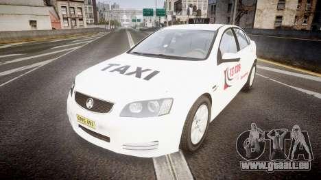 Holden Commodore Omega Queensland Taxi v3.0 pour GTA 4