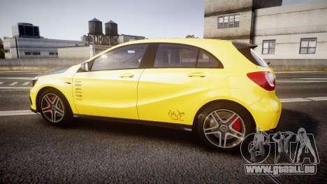 Mersedes-Benz A45 AMG PJs2 für GTA 4 linke Ansicht