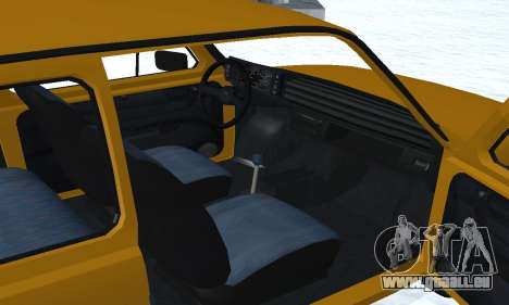 Fiat 126p FL pour GTA San Andreas vue de dessous
