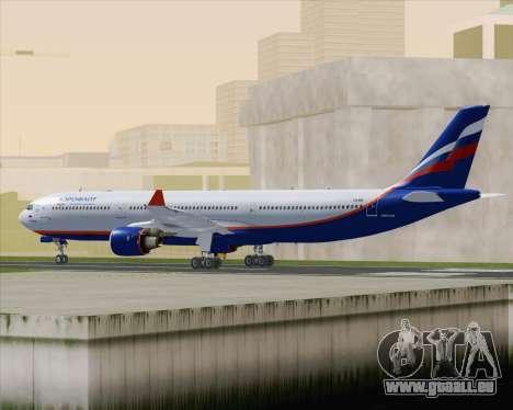 Airbus A330-300 Aeroflot - Russian Airlines für GTA San Andreas rechten Ansicht