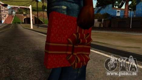 New Year Remote Explosives pour GTA San Andreas troisième écran