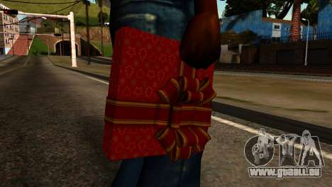 New Year Remote Explosives für GTA San Andreas dritten Screenshot