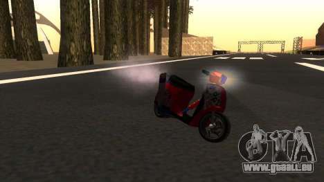 Faggio Stunt für GTA San Andreas