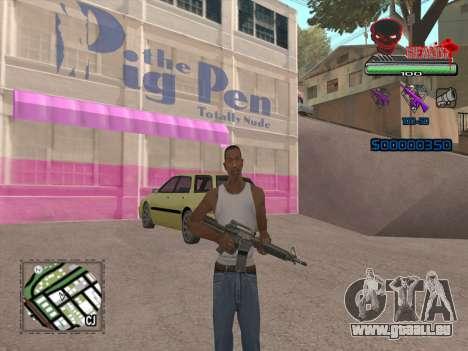 C-HUD by VinC pour GTA San Andreas deuxième écran