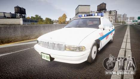 Chevrolet Caprice Liberty Police [ELS] pour GTA 4