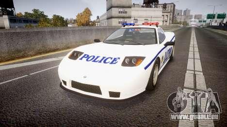Invetero Coquette Police Interceptor [ELS] pour GTA 4