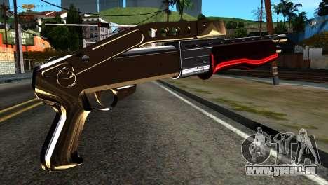 New Combat Shotgun pour GTA San Andreas deuxième écran