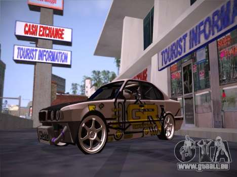 BMW M5 E34 Grip Runners Team für GTA San Andreas