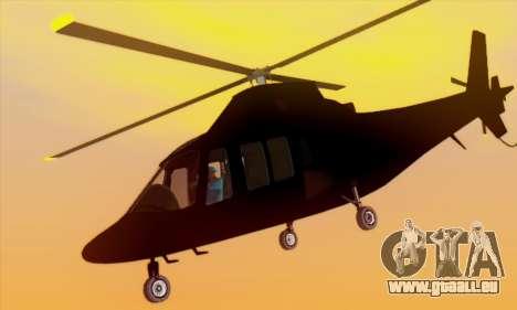 Swift GTA 5 pour GTA San Andreas vue de côté