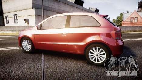 Volkswagen Gol G6 iTrend 2014 rims1 pour GTA 4 est une gauche