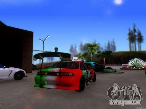 Nissan 200SX Elite Gas pour GTA San Andreas sur la vue arrière gauche