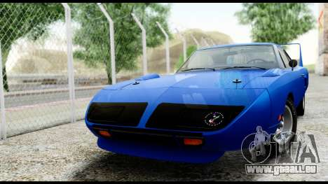 Plymouth Roadrunner Superbird RM23 1970 HQLM für GTA San Andreas linke Ansicht
