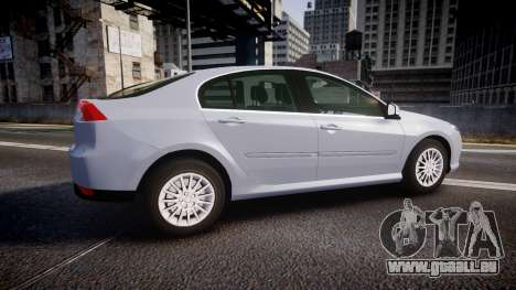 Renault Laguna III 2007 für GTA 4 linke Ansicht