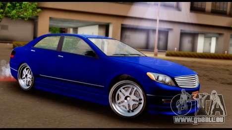 GTA 5 Schafter Bumper pour GTA San Andreas