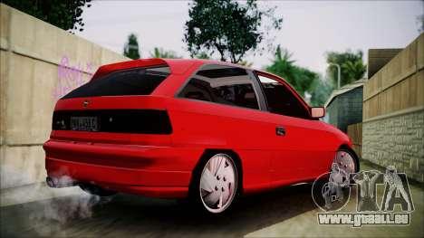 Opel Astra GSI BG für GTA San Andreas linke Ansicht
