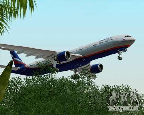 Airbus A330-300 Aeroflot - Russian Airlines für GTA San Andreas Seitenansicht