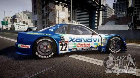 Nissan Skyline R34 2003 JGTC Xanavi Hiroto für GTA 4 linke Ansicht