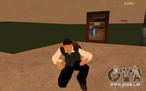 Nouvelle animation par Ozlonshok pour GTA San Andreas deuxième écran