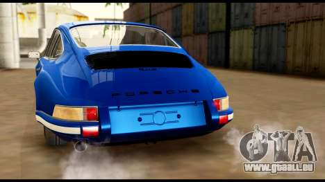 Porsche 911 Carrera 2.7RS Coupe 1973 Tunable für GTA San Andreas Motor