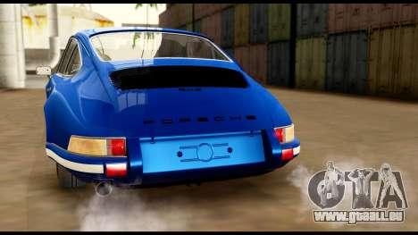 Porsche 911 Carrera 2.7RS Coupe 1973 Tunable für GTA San Andreas Motor