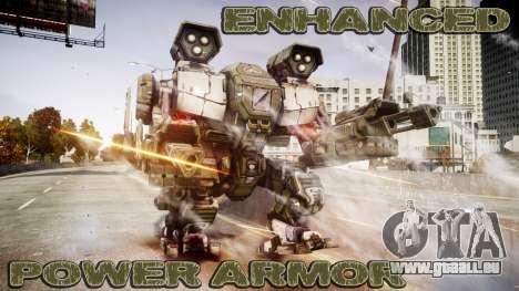 Enhanced Power Armor pour GTA 4