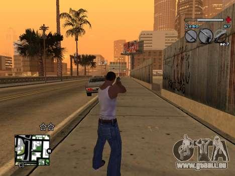 C-HUD Universal v3 pour GTA San Andreas sixième écran
