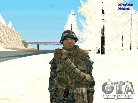 Les forces spéciales de la Fédération de russie pour GTA San Andreas