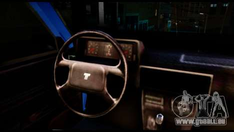 Tofas Kartal für GTA San Andreas Rückansicht