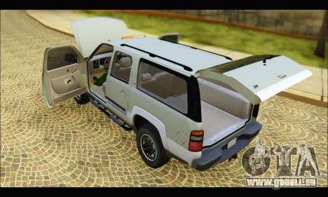 GMC Yukon XL 2003 v.2 pour GTA San Andreas vue de droite