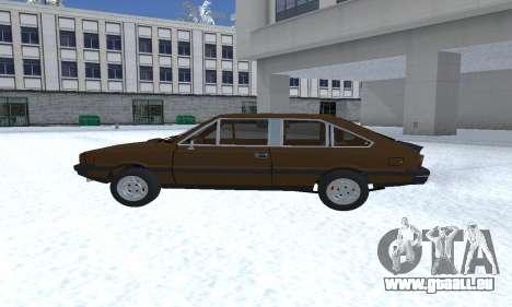 FSO Polonez 2.0X Coupe pour GTA San Andreas laissé vue