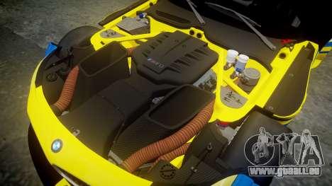 BMW Z4 GT3 2012 Northwest pour GTA 4 est une vue de l'intérieur