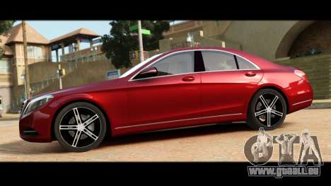 Mercedes-Benz S500 W222 pour GTA 4 est une gauche