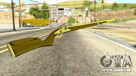 Rifle from GTA 5 pour GTA San Andreas deuxième écran