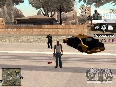 C-HUD 3D pour GTA San Andreas