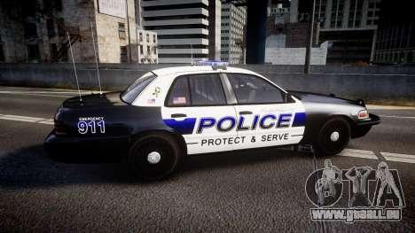 Ford Crown Victoria Police Algonquin [ELS] pour GTA 4 est une gauche