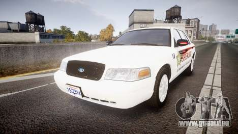 Ford Crown Victoria Sheriff [ELS] rims2 pour GTA 4