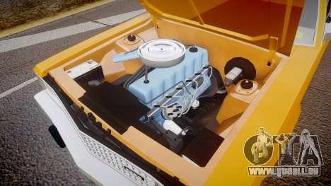 Ford Fairmont 1978 Taxi v1.1 pour GTA 4 est une vue de l'intérieur