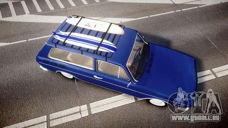 Volkswagen 1600 Variant 1973 für GTA 4 rechte Ansicht