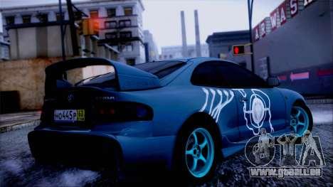 Toyota Сelica pour GTA San Andreas laissé vue