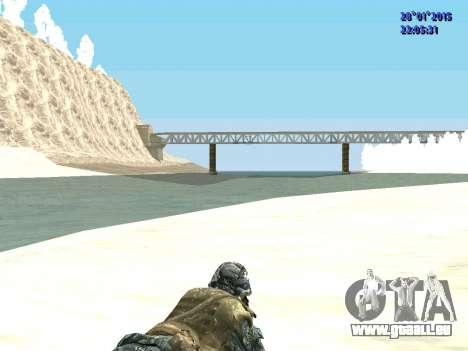 Les forces spéciales de la Fédération de russie pour GTA San Andreas quatrième écran